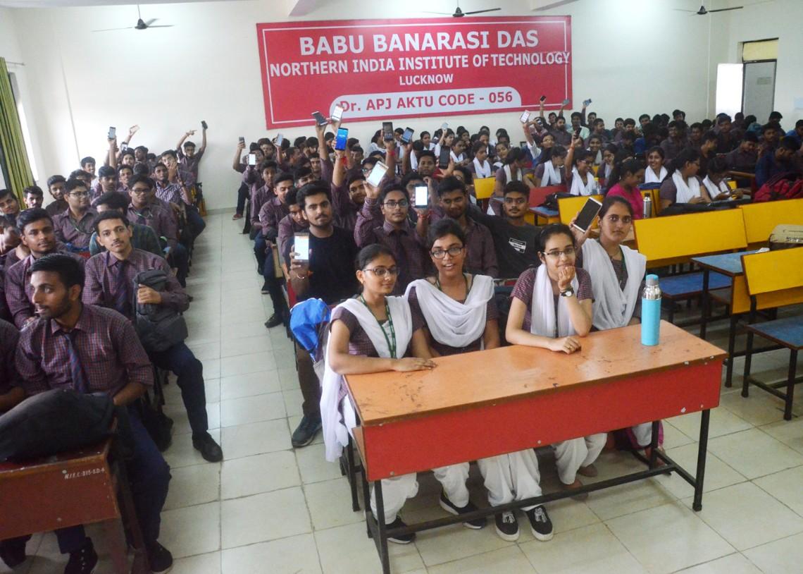 Scholarship Cell organized a seminar for B.Tech. First ...