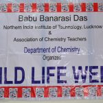 Wild Life Week organized by Department of Chemistry, BBDNIIT