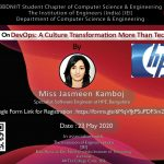 Webinar on DevOps: A Culture Transformation More   Than Technology