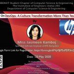 Webinar on DevOps: A Culture Transformation More   Than Technology