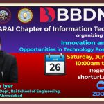 Webinar on Innovation and Career Opportunities in Technology Post COVID-19