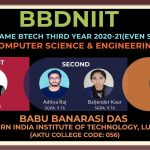Hall of Fame of Dept of Computer Science & Engineering 3rd Year 2020-21 Even Semester